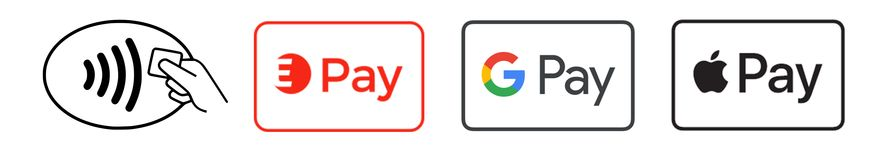 Edenred mit Google Pay, Edenred Pay und Apple Pay