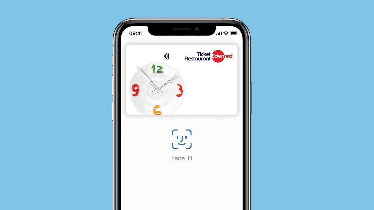 Apple Pay am iphone mit Ticket Restaurant nützen
